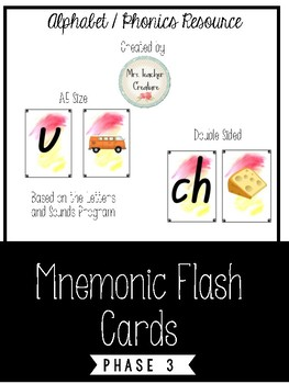Mnemonic Flash Cards A5 size