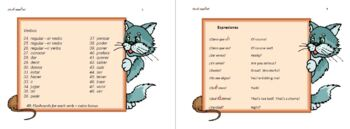 Mnemonic, Learning Devices and Verb charts for the Spanish Classroom.