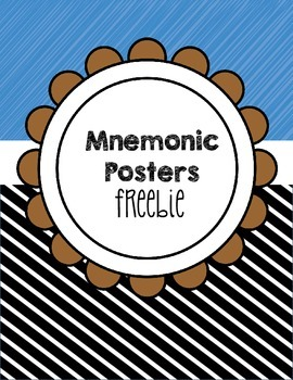 Mnemonic Posters for BECAUSE