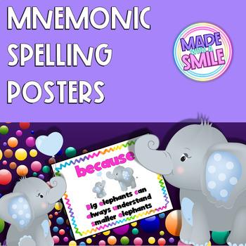 Mnemonic Spelling Posters