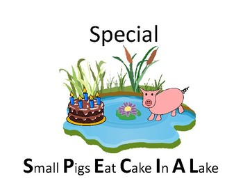 """Mnemonic for """"Special"""""""