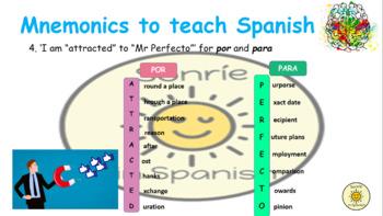 Mnemonics to teach Spanish