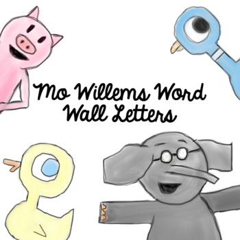 Mo Willems Alphabet Decor