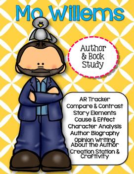 Mo Willems Author & Book Study {CCSS}