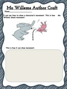 Mo Willems Author Craft Movement
