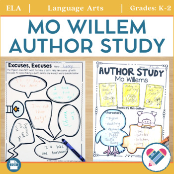 Mo Willems Author Study