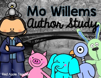 Mo Willems Author Study--A Reading Response Journal for Grades K-2