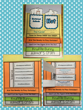 Mo Willems Author Study Interactive Notebook/ Flipbook/ Lapbook