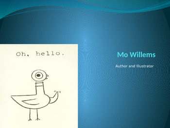 Mo Willems - Background power point