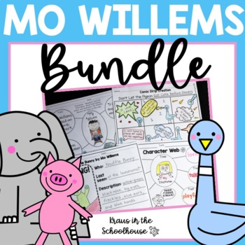 Mo Willems Bundle - Pigeon, Elephant and Piggie, and Knuffle Bunny