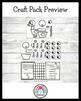 Mo Willems Craft Pack: Pigeon, Duckling, Elephant, Piggie
