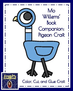 Mo Willems Craft Pack: Pigeon, Duckling, Elephant, Piggie