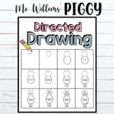 Mo Willems' Directed Drawing of Piggy