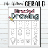 Mo Willems' Gerald Directed Drawing