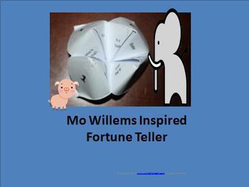 Mo Willems Inspired Fortune Teller