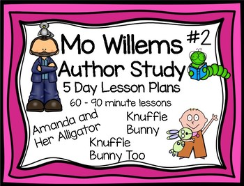 Mo Willems Knuffle Bunny Narrative Writing 5 Day Lesson Plans