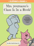 Smart Board , Mo Willems' LAST BOOK, The Thank You Book (edit for you!)