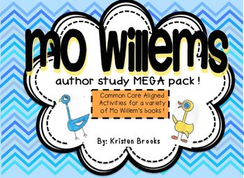 Mo Willems Author Study MEGA Activity Pack