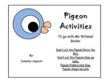 Mo Willems' Pigeon Activities