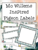 Mo Willems Pigeon Labels