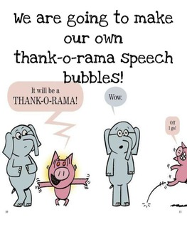 Mo Willems' Thank You Book ,Thank-o-rama  is MAY, Smart Board