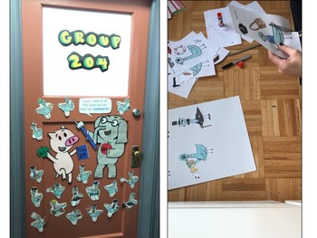 Mo Willems Themed Door (K-2)