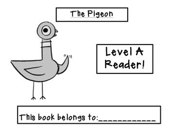 Mo Willems Themed Guided Reading Book Bundle! {Levels A through E!}