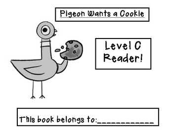 Mo Willems Themed Guided Reading Level C Book!