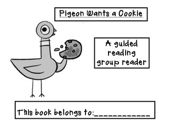 Mo Willems Themed Guided Reading Level D/E Book!