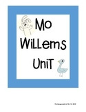 Mo Willems Unit- Knuffle Bunny and Pigeon