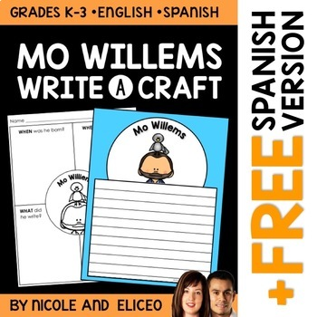 Writing Craft - Mo Willems Author Study