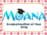 """Moana Graduation Song/Parody """"How Far I'll Go"""" Graduation Song/Parody"""