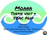 Moana Theme Unit/SBAC Prep for Middle School