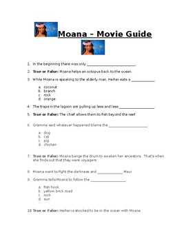 Moana - Movie Guide