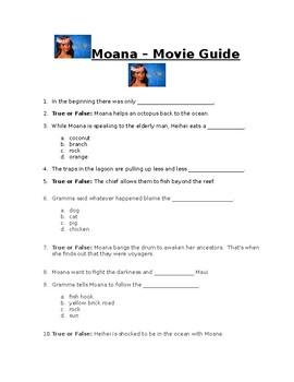 Moana - Movie Guide