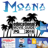 Moana Movie Guide | Questions | Worksheet (PG - 2016)
