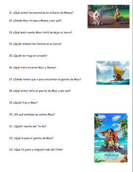 Coco Movie Spanish Answers And Questions