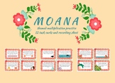 Moana Multiplication Word Problems