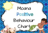 Moana Positive Behaviour Chart