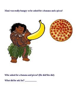Moana Story (Pronouns)