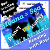 Google Classroom Reading Comprehension Activities Using Moana Themed Parody Song