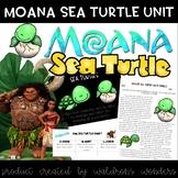 Moana Themed Sea Turtle Mini Unit
