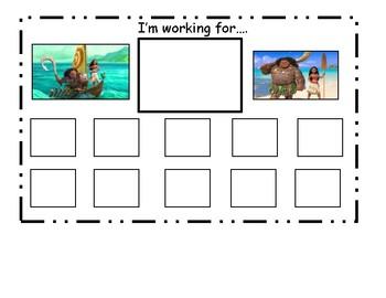 Moana Token Board