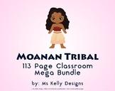 Moana n Tribal 113 Page Classroom Mega Bundle Set