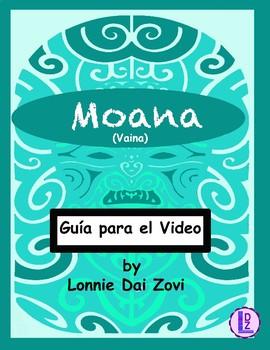Moana (o Vaiana en España) guía para el video