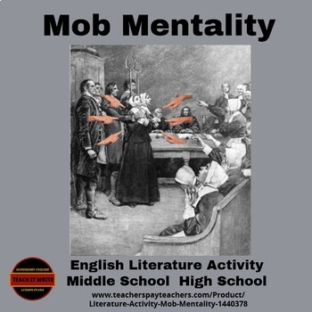 Literature Activity - Mob Mentality