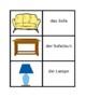 Möbel (Furniture in German) Concentration games