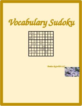 Möbel (Furniture in German) Sudoku