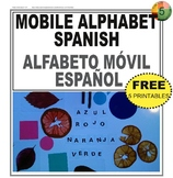 Mobile Alphabet Spanish / Alfabeto móvil en Español