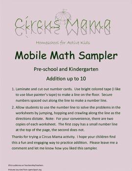 Mobile Math Sampler